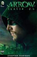 Arrow Season 2.5 chapter 13 digital cover