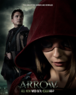 Arrow temporada 4 poster - The sins of the father are revealed