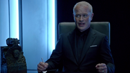 Damien Darhk and Quentin Lance talk on Andrew Diggle (3)