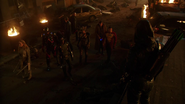 Green Arrow (Connor Hawke) fight Deathstroke (Grant Wilson) (9)