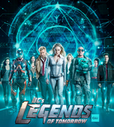 DC's Legends of Tomorrow season 4 poster featuring Beebo