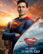 Superman & Lois Superman Promotional Image