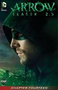 Arrow Season 2.5 chapter 14 digital cover