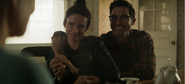 Lois and Clark tell Martha they are having twins