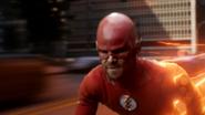 Oliver's first run as a speedster