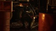 Green Arrow (Connor Hawke) fight Team Legends (2)