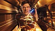 Barry can run