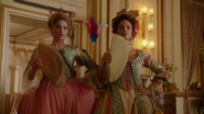 Ava and Zari in high class attires at the Versailles 1793