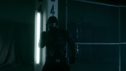 Vigilante fight with Green Arrow and Spartan in old factory (1)