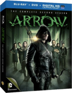 Arrow - The Complete Second Season region A cover