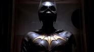 Batgirl suit on display