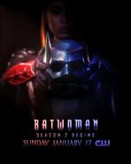 Batwoman Season 2 Mask Poster