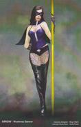 The Huntress dancer concept artwork