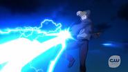 Weather Wizard fight Flash, Firestorm and Vixen (3)