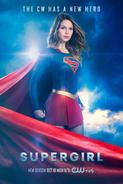 Pôster da T2 de Supergirl