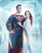 Superman and Lois Lane promo image