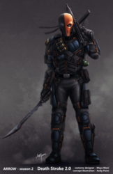 Deathstroke concept art season 2