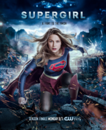 Supergirl season 2 poster - A fight to the finish