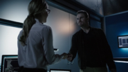 Oliver thanks Felicity for finding AK Desmond Group's location