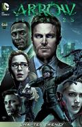 Arrow Season 2.5 chapter 20 digital cover