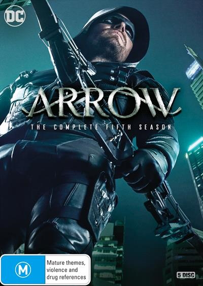 Arrow - The Complete Fifth Season region 4 cover.png