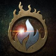Ola de Calor emblema