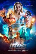 DC's Legends of Tomorow season 3 poster - Time...You Break It, You Fix It