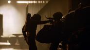 Dark Arrow zabija Strażnika (6)