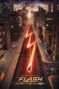 The Flash promo poster - Discover what makes a hero.png