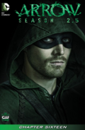 Arrow Season 2.5 chapter 16 digital cover