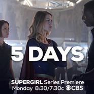 5 days until the Supergirl series premiere