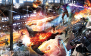 DC's Legends of Tomorrow first concept art