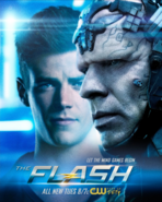 The Flash season 4 poster - Let the Mind Games Begin