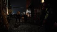 Black Canary (Evelyn Sharp) frist met Green Arrow (2)