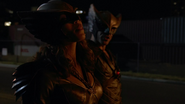 Hawkman and Hawkgirl resuce woman (5)