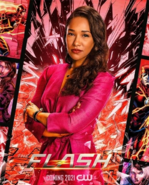 Iris West promotional image (Season 7)