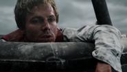 Oliver w szalupie