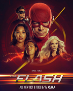 The Flash season 6 poster - Speed. Force.