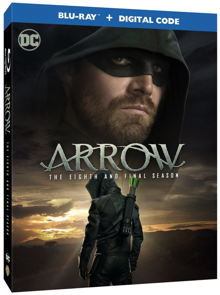 Arrow - The Eighth and Final Season region A cover.png