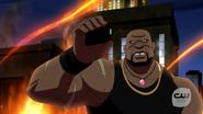 Eshu fight with Vixen, Kuasa, Atom and Black Canary (1)