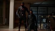 Vigilante and Green Arrow fight (3)