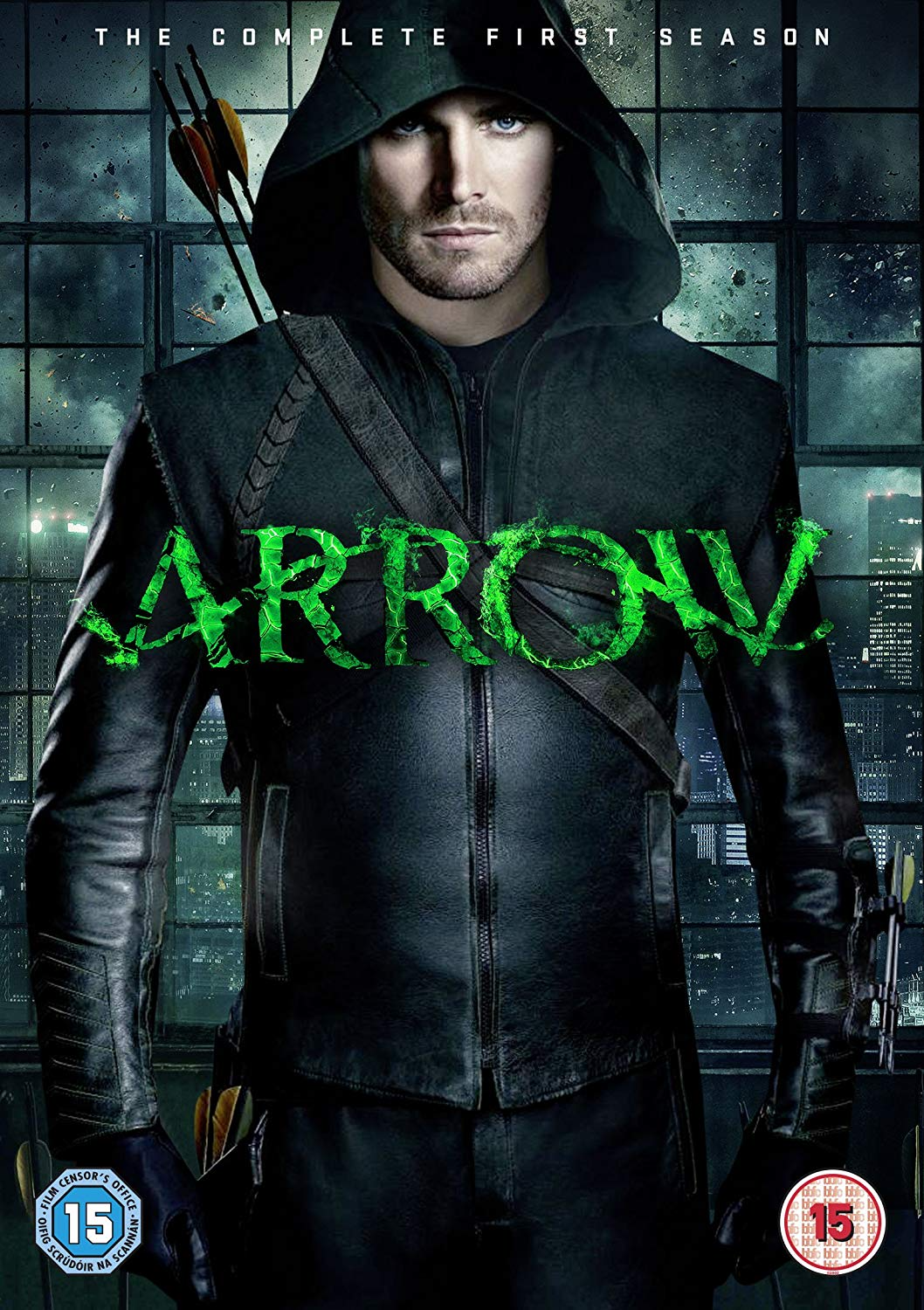 Arrow - The Complete First Season region 2 cover.png