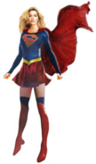 Supergirl costume design concept artwork