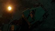 Green Arrow (Connor Hawke) fight Team Legends (1)