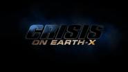 Title card de Crise na Terra-X