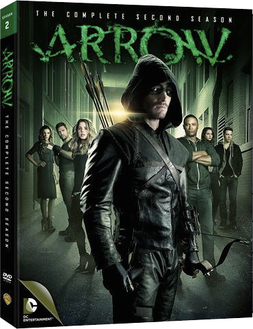 Arrow - The Complete Second Season region 1 cover.png