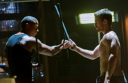 John Diggle and Oliver Queen