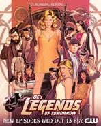 DC's Legends of Tomorrow season 7 poster - A Roaring Rewind