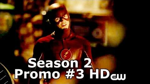 "The Flash Season 2 Promo 3 Jay Garrick & Atom Smasher and ""New Threats"" (HD) Promo 3"
