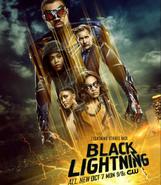 BlackLightning - S3 Poster